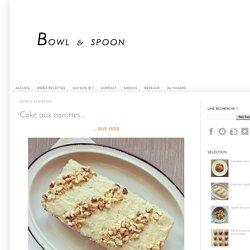 Cake aux carottes...