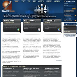 BowlingSats - Online Bowling League Manager