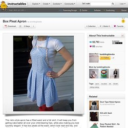 Box Pleat Apron