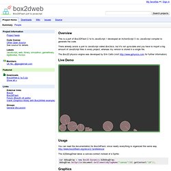 box2dweb - Box2DFlash port to javascript