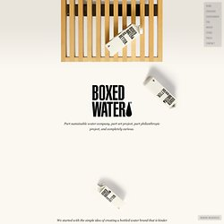 Boxed Water Is Better - Environment & Giving