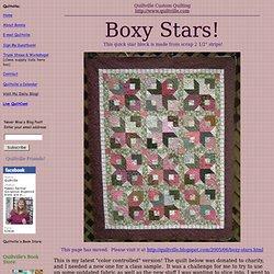 Boxy Stars