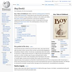 Boy (book)