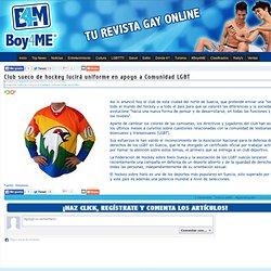 Club sueco de hockey lucirá uniforme en apoyo a Comunidad LGBT