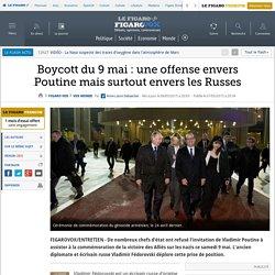 Boycott du 9 mai : une offense envers Poutine mais surtout envers les Russes