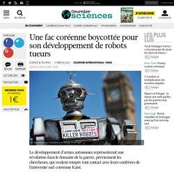 Une fac coréenne boycottée pour son développement de robots tueurs