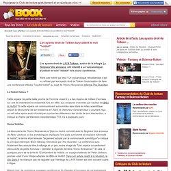 """Les ayants droit de Tolkien boycottent le mot """"hobbit"""""""