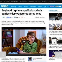 Boyhood, la primera película rodada con los mismos actores por 12 años