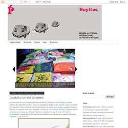 Boyitas: Gandolfo: un año de poesía