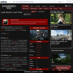 Lady Boyle's Last Party - Dishonored Wiki - Wikia