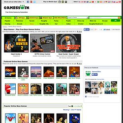 Boys Games - Play Free Online Boys Games at Games2win.com