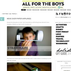 All for the Boys - All for the Boys - MOVE OVER PAPER&AIRPLANES - StumbleUpon