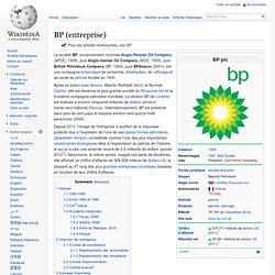 BP (entreprise)