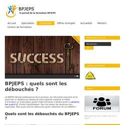 BPJEPS : les débouchés après avoir passé son BPJEPS