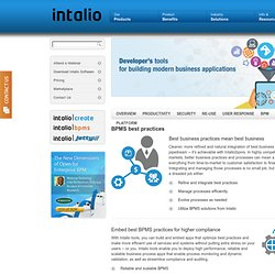 Business Process Management (BPM) - Intalio The Private Cloud Co
