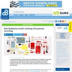 Hoe Brabantia werkt richting 100 procent recycling