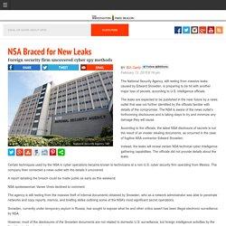 NSA Braced for New Leaks