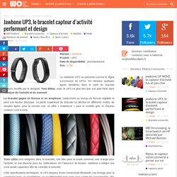 Jawbone UP3, le bracelet capteur d'activité performant et design