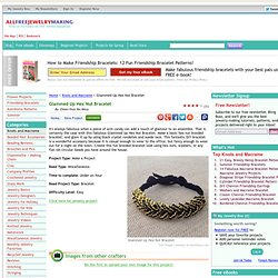 Glammed Up Hex Nut Bracelet