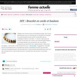 DIY / Bracelet en corde et boulons - par TheTrendyGirl