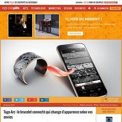 Tago Arc : le bracelet connecté qui change d'apparence selon vos envies