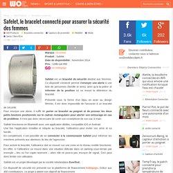 Safelet, le bracelet connecté pour assurer la sécurité des femmes