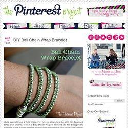 Wrapping a Bracelet