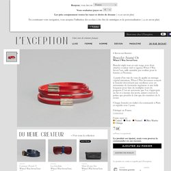 Bracelet Atamé Or Rouge When I Was Seven7een en vente chez L'Exception