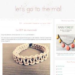 DIY : un bracelet tressé en cuir pour l'été !