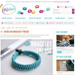 DIY - Faire un bracelet tressé pour Homme avec des lacets
