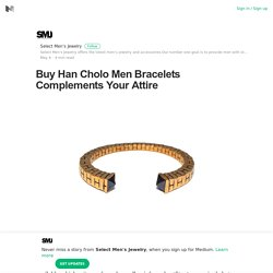 Buy Han Cholo Men Bracelets Complements Your Attire