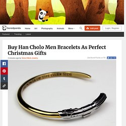 Buy Han Cholo Men Bracelets As Perfect Christmas Gifts