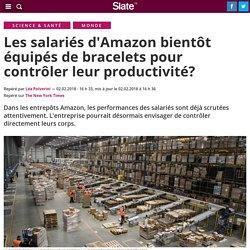 Les salariés d'Amazon bientôt équipés de bracelets pour contrôler leur productivité?