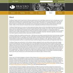 Bracero History Archive