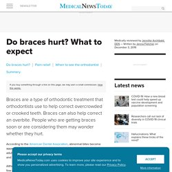 Do braces hurt? What to expect when you get braces
