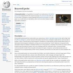 Bracewell probe