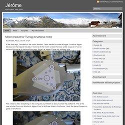 Jérôme » Motor bracket for Turnigy brushless motor