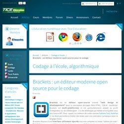 Brackets : un éditeur moderne open source pour le codage