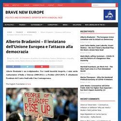 Alberto Bradanini - Il leviatano dell'Unione Europea e l'attacco alla democrazia