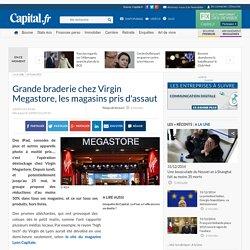 Grande braderie chez Virgin Megastore, les magasins pris d'assaut