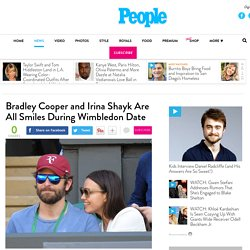 Bradley Cooper and Irina Shayk Are All Smiles During Wimbledon Date