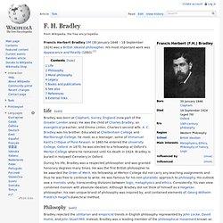 F. H. Bradley