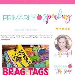 Brag Tags {Tips & Tricks}