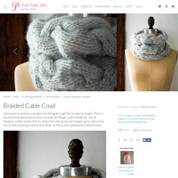 Braided Cable Cowl