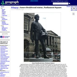 James Braidwood statue, Parliament Square