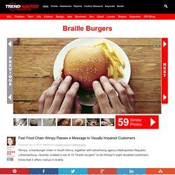 Braille Burgers : braille burgers