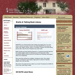 Braille & Talking Book Library