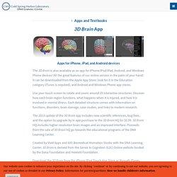 3-D Brain App - CSHL DNA Learning Center