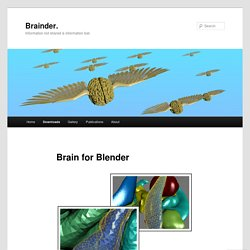 Brain for Blender