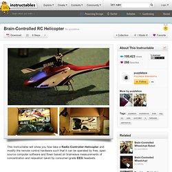 Brain-contrôlée RC Helicopter